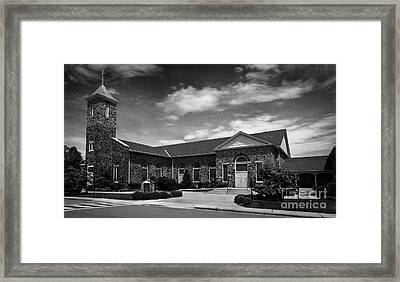 St. Mary Of The Mills Laurel Maryland Framed Print