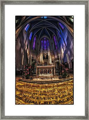 St Mary's 2 Framed Print