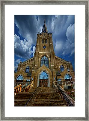 St. Mary's Cathedral  Framed Print by Regina  Williams