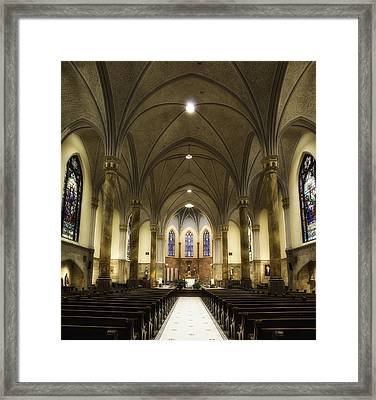 St Mary's Catholic Church Framed Print