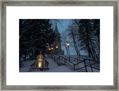 St Mary's Christmas Framed Print