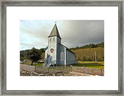 St Mary's Chruch Framed Print by Marv Russell