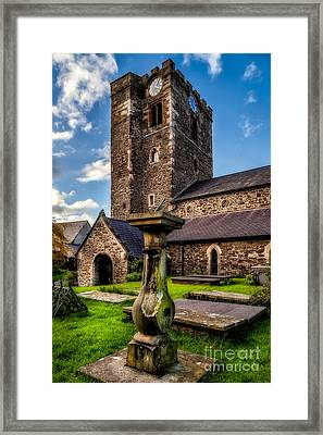 St Marys Church Framed Print by Adrian Evans