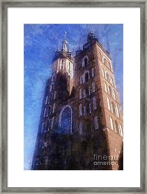 St. Mary's Church Cracow Framed Print