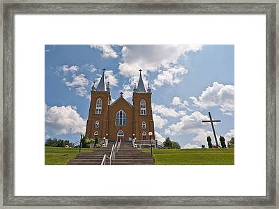 St. Mary's Church Framed Print by Marek Poplawski