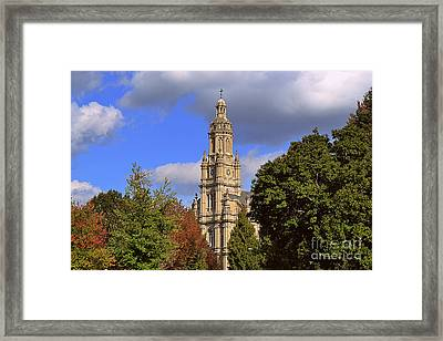 St Mary's Immaculate Conception Church Framed Print by Amy Lucid
