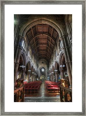 St Mary's Without The Walls V2 Framed Print by Ian Mitchell