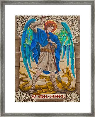 St. Michael Framed Print by Jason Honeycutt