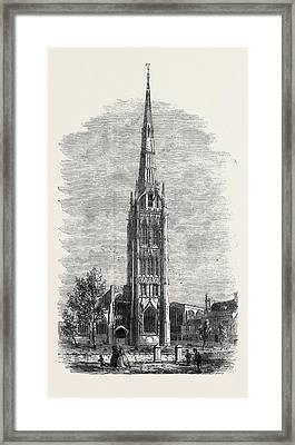St. Michaels Church Coventry Framed Print by English School