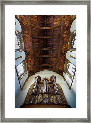 St Michael's Church Framlingham Framed Print