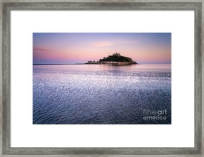 St Michaels Mount Cornwall Framed Print
