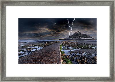 St Michael's Mount Cornwall Framed Print by Martin Newman