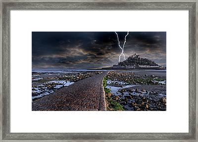 St Michael's Mount Cornwall Framed Print