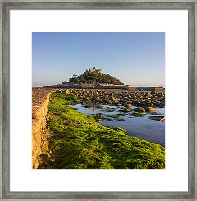 St Michael's Mount Framed Print by Martin Newman