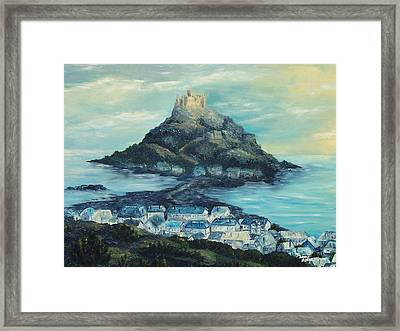 St. Michael's Mount Framed Print
