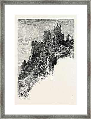 St. Michaels Mount, The Lands End, Uk Framed Print by English School