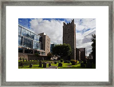 St Michens Church, 1686, Dublin City Framed Print by Panoramic Images
