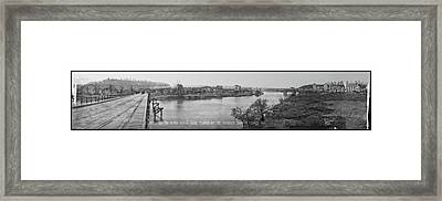 St Mihiel On The River Meuse, Made Framed Print