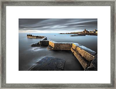 St Monans Dawn Framed Print by Dave Bowman