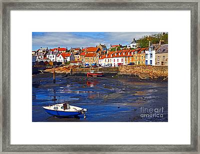 Framed Print featuring the photograph St Monans Fife by Craig B