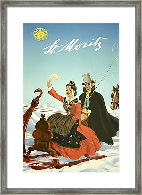 St Moritz Framed Print by David Wagner