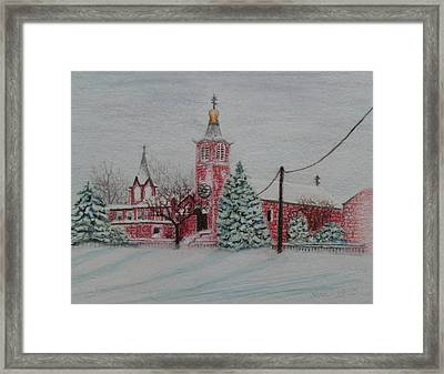 St. Nicholas Church Roebling New Jersey Framed Print