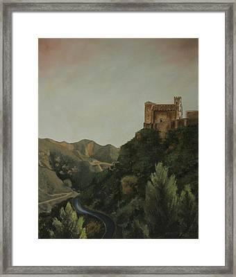 St Nicholas Church Savoca Framed Print
