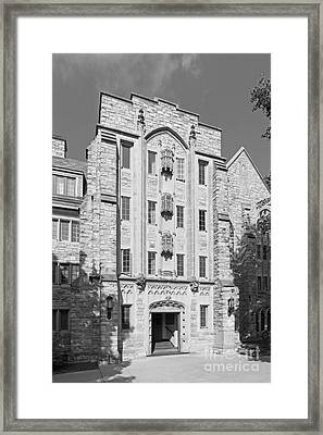 St. Olaf College Mellby Hall Framed Print by University Icons