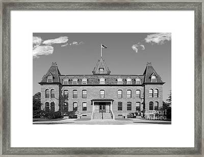 St. Olaf College Old Main Framed Print by University Icons