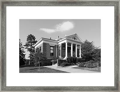 St. Olaf College Steensland Hall Framed Print by University Icons