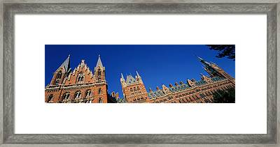 St Pancras Railway Station London Framed Print by Panoramic Images