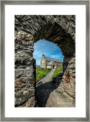 St Patrick Arch Framed Print by Adrian Evans
