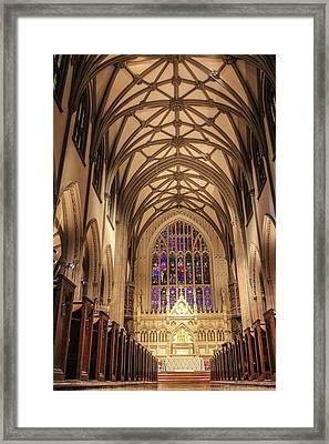 St Patrick Cathedral  Framed Print by John McGraw