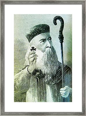 St Patrick Framed Print