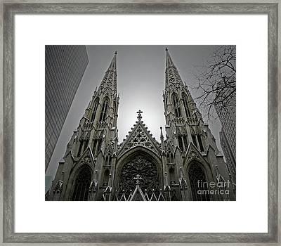 St. Patricks Cathedral  Framed Print
