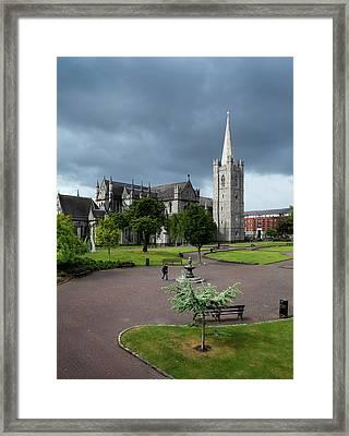 St Patricks Cathedral, Dublin, Ireland Framed Print