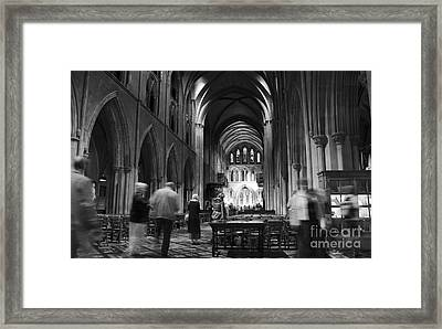 St Patrick's Cathedral Dublin Framed Print by RicardMN Photography