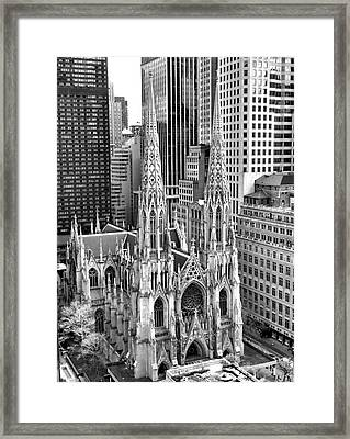 St. Patrick's Cathedral Framed Print
