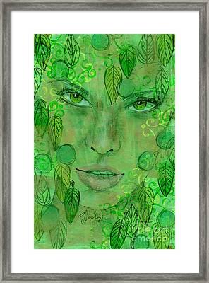 St. Patrick's Girl Framed Print