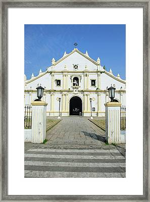St Paul Cathedral In The Unesco World Framed Print