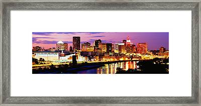St Paul, Minnesota, Usa Framed Print by Panoramic Images