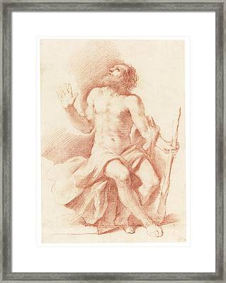St Paul The Hermit Framed Print by Celestial Images