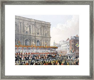 St Pauls, 7th March 1863, From A Framed Print by English School