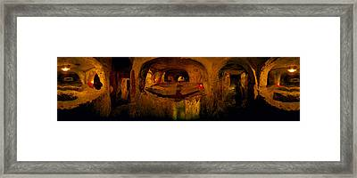 St. Pauls Catacombs, Rabat, Malta Framed Print by Panoramic Images