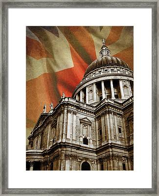 St Paul's Cathedral Framed Print by Mark Rogan