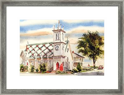 St. Pauls Episcopal Church II Framed Print