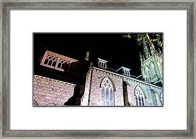 St. Paul's Presbyterian Church Framed Print by Danielle  Parent