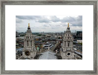 St Paul's View Framed Print