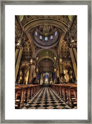 St. Peter And Paul Cathedral Framed Print by Kim Zier