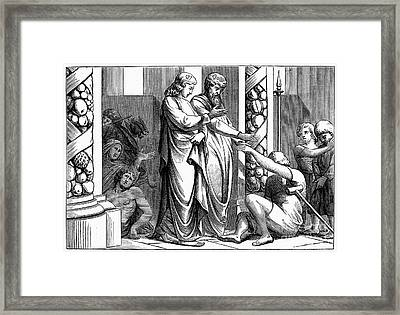 St. Peter And St. John Framed Print by Granger